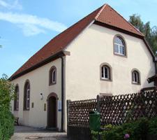 Synagoge Michaelbach Lücke nach der Renovierung